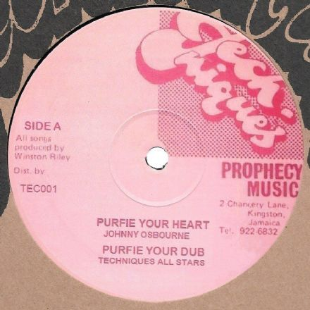 Johnny Osbourne - Purify Your Heart / dub / Jimmy Riley - Prophecy / dub (Techniques) 12""